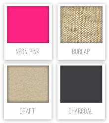 Craft Neon Party Color Palette