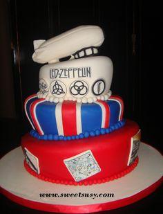 Led Zeppelin Cake- My future birthday cake! I wish!