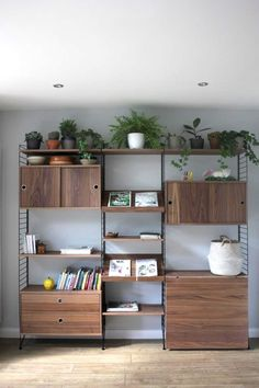 Five Best Modular Shelving Units - Mad About The House Wall Shelving Units, Modular Shelving, Living Room Shelving Units, Modular Storage, Wall Units, Tv Units, Large Shelves, Corner Shelves, Corner Desk