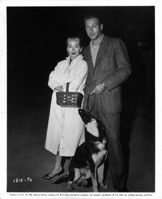 Lex Barker and wife Lana Turner