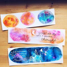 earth tone bookmarks watercolour and ink Watercolor Art Face, Watercolor Bookmarks, Watercolor Paintings, Diy Bookmarks, Galaxy Painting, Happy Paintings, Planner, Painting Inspiration, Diy Art
