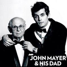 John Mayer and his dad