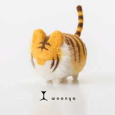 woonya【tiger】 猫/cat/羊毛フェルト/Needle Felting
