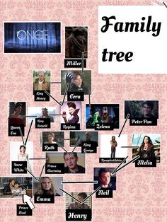 New updated ouat family tree with baby prince Neal, who is the son of Prince Charming and Snow White if that isn't clear