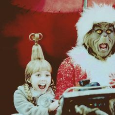 The Grinch Who Stole Christmas. <3 best movie ever!:) can't wait to watch it