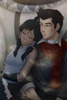 Mako and Korra.  If you like geeky stuff, like, repin and share! Thanks :)