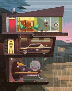 Scene #20: 'Day Off' www.pixelshuh.com