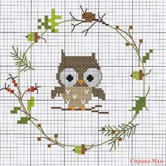 Thrilling Designing Your Own Cross Stitch Embroidery Patterns Ideas. Exhilarating Designing Your Own Cross Stitch Embroidery Patterns Ideas. Cross Stitch Owl, Cross Stitch Alphabet, Cross Stitch Animals, Counted Cross Stitch Kits, Cross Stitch Designs, Cross Stitch Patterns, Hand Embroidery Stitches, Hand Embroidery Designs, Cross Stitch Embroidery