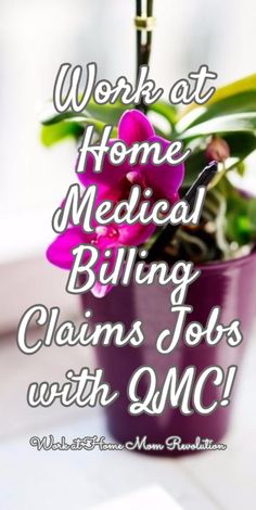 at Home Medical Billing Jobs with Quick Med Claims Work at Home Medical Billing Claims Jobs with QMC! / Work at Home Mom RevolutionWork at Home Medical Billing Claims Jobs with QMC! / Work at Home Mom Revolution Work From Home Companies, Home Based Business Opportunities, Save My Money, How To Make Money, Money Making Websites, Online Job Search, Work For Hire, Medical Billing And Coding, Work From Home Moms