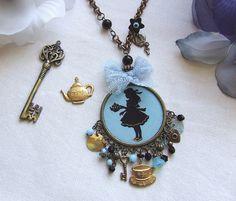 Alice in Wonderland...necklace XV