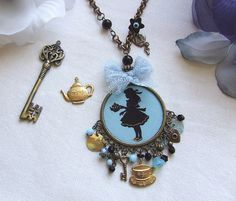 Alice in Wonderland...necklace XV