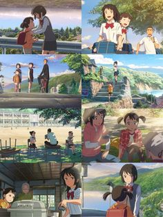 Mitsuha and Yotsuha - Kimi no na wa Kimi No Na Wa, Vampire Academy, Awesome Anime, Anime Love, Makoto Shinkai Movies, Watch Your Name, Narnia, Manga Anime, Otaku