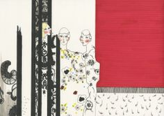 ILLUSTRATION BY VALERIE SERVAIS: ERDEM - London Womenswear S/S 2014 - SHOWstudio - The Home of Fashion Film