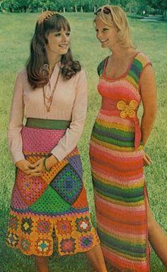 Hippie crocheting