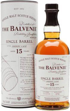 The Balvenie 15 Year Old Single Barrel Single Malt Scotch Whisky Sherry Cask | @Caskers