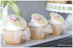 Floral Cupcakes for a Baby Shower-It's a Girl! by The Pastry Studio: Daytona Beach, Fl » The Pastry Studio