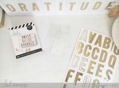 World Gratitude Day Lightbox by Heidi Swapp ~ Jamie Pate  | @jamiepate for @heidiswapp