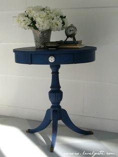 napoleonic blue table