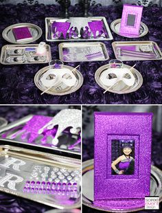   Ever After High Party: Raven Queen's Thronecoming   http://soiree-eventdesign.com