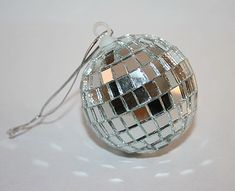 Hanging Car Mirror Disco Ball