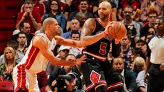 Carlos Boozer and Shane Battier in NBA playoff hunt