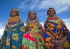 Angola Mwila women - Angola, via Flickr.