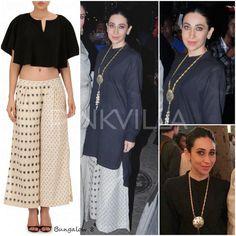 Celeb Fashion,karisma Kapoor,aquamarine,bungalow 8,Esha Amiin