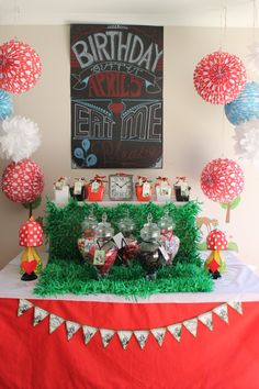 Alice in Wonderland Lolly/Candy Buffet