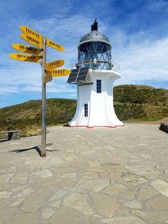 Tip of the North island. Cape Reinga