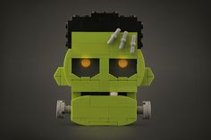 """""""The Frankenstein Monster"""" by Legohaulic: Pimped from Flickr"""