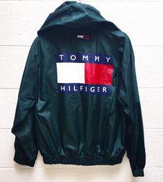 Very Rare Vintage 90s Tommy Hilfiger Bog Logo Windbreaker  Brand: Tommy Hilfiger…