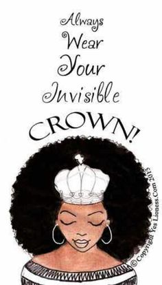 To me being natural is more than about my hair. Everyday I'm falling more and more in love with myself and how God created me! I never forget to put on my crown! Natural Hair Art, Pelo Natural, Natural Hair Journey, Natural Hair Styles, Natural Beauty, Black Girls Rock, Black Girl Magic, Art Afro Au Naturel, Just Love