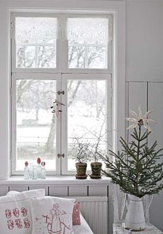 Christmas Decoration Ideas Scandinavian or Nordic style