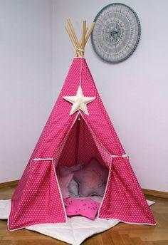 #pacztipi #pacz #teepee #tipi #wigwam #tent #crochet #pillows #stars #clouds #radosnafabryka #handmade Diy And Crafts, Kids Room, Toddler Bed, Room Decor, Cool Stuff, Fabric, Cotton, Furniture, Sleepsack
