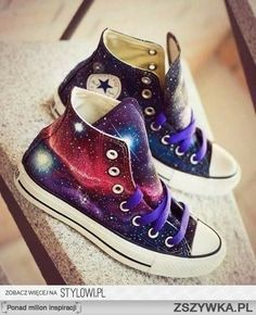 Converse galaxy, now, to paint a TARDIS on the side...
