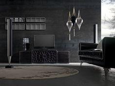 Wohnideen Wohnzimmer Schwarz-Italienisches Möbeldesign