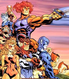 There was nothing on TV I loved more than Thundercats! I even remember eating a Thundercats sherbet that had a sword shaped foam sweet to dip in it instead of a lolly or liquorice!