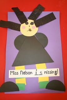 Miss Nelson is Missing! This is TOO cute! I love the hair.