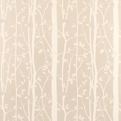 Laura ashley cottonwood wallpaper love the natural look has a shimmer ideal for the bedroom.