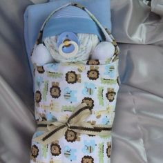 Baby gift made of diapers!