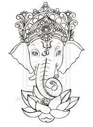 Les 8 meilleures images de ganesh buddha drawings et ganesha drawing - Elephant indien dessin ...