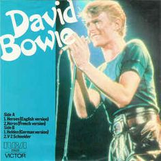 6c213f191f RARE! David Bowie 4 Song EP Australia/New Zealand Import! Authentic Vintage  1978! David Bowie ~ Heroes/English- French- German Versions NM