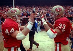 Tom Rathman with the 49ers