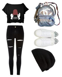 """""""Untitled #23"""" by cassidymalllen on Polyvore featuring Chanel, Yves Saint Laurent and Rick Owens"""