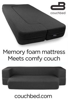 The comfort of a cool-gel memory foam mattress and the functionality of 2 pieces. - The comfort of a cool-gel memory foam mattress and the functionality of 2 pieces of furniture. Diy Interior, Interior Design, Remodeled Campers, Foam Mattress, First Home, Cool Furniture, Bedroom Furniture, Furniture Mattress, Furniture Outlet