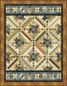 Truly Stunning! Smokey River Quilt Pattern.