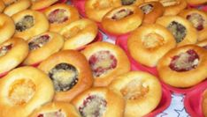 Bagel, Cheesecake, Food And Drink, Sweets, Bread, Baking, Fruit, Desserts, Basket
