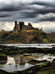 Tantallon Castle, Scotland, UK