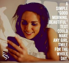"""A simple """"good morning beautiful"""" text could make any girl smile for the whole day.  #countryquotes #countrycouples #countrylife #countrystyle #redneckcouples #countrysayings #countrylove #countrymusicbuddy Country Couples Quotes, Couple Quotes, Fact Quotes, True Quotes, Cute N Country, Country Life, Country Girls, Good Morning Beautiful Text, Classic Country Artists"""