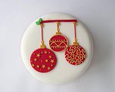 Day 1 – Christmas Cake Decorating
